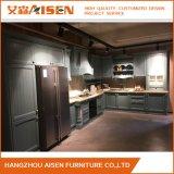 Export zum Amerika-Küche-Tür-Ahornholz-festes Holz-Küche-Schrank