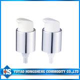 Revêtement en aluminium de 20mm crème cosmétique la pompe du pulvérisateur avec capuchon