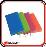 Caderno de papel recicl da agenda do caderno com faixa elástica