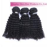 速い配達自然で加工されていなく最もよいペルーの毛の織り方の束