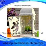 De creatieve Houder van de Kaars van het Metaal voor de Decoratie van Kerstmis