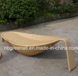Rattan Banana Leaf Shaped Sun Lounge