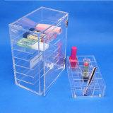 투명한 다중층 장식용 수집 상자