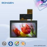 L'écran LCD 4,3 pouces à écran tactile avec RTP