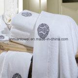 100%Cotton de Duidelijke Handdoek van het hotel, de Reeks van de Badhanddoek van de Handdoek van de Hand van het Washandje