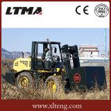 Carretilla elevadora de Ltma ATV carretilla elevadora diesel del terreno áspero de 10 toneladas