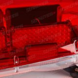 Van het Wetenschappelijke Gladde 60W LEIDENE 1200*416*253 13.6kg Siren&Speaker van Senken de Lichte Staaf van het Dak Voertuig van de Noodsituatie