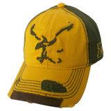 Помытая бейсбольная кепка с логосом Applique с взглядом Bb1743 Grunge
