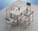 Пластичный деревянный самомоднейший напольный стул рукоятки (PWC-312)