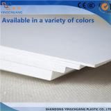 strato di pubblicità impermeabile bianco della gomma piuma del PVC di 3mm