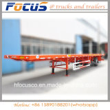 3 Transporte de carga do eixo semi reboque com pole para a Madeira/carga