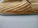 Газа Очень мягкая ткань одноразовые тапочки с тканого этикетки