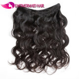 Cor preta natural da onda por atacado do corpo das extensões do cabelo humano do Virgin