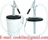 5개 갤런 들통 레버 활동 분배 펌프 작동액 기어 유동성 물통 유형 강철 이동 윤활유 펌프