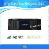 Centro generale della gestione di sorveglianza del CCTV di obbligazione di Dahua (DSS7016DR)