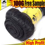 브라질 머리의 출하 무료 샘플 Fumi 자유로운 길쌈