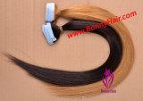 De Uitbreiding van het Haar van de band, de Uitbreiding van het Haar van de pre-Band, de dubbel-Vastgebonden Uitbreiding van het Haar, de Uitbreiding van het Haar van de Band van Pu, de Beste Groothandelsprijs van de Kwaliteit, Speciale Orde kan zijn aanpast