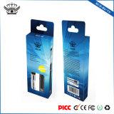 Comercio al por mayor de 0,5 ml vaporizador Bud personalizado de vidrio fabricantes de cigarrillos E EE.UU.