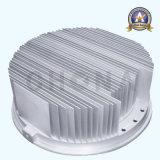 Diodo emissor de luz que ilumina o sistema térmico do dissipador de calor da solução
