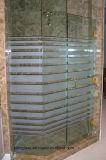Het aangemaakte Glas van de Badkamers met Kleur Afgedrukt Patroon