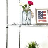 Nivel 5 de laminación de estanterías de almacenamiento de cable ajustable La unidad de rack para el hogar comedor