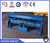 WH06-2.0X2540 de Plaat die van het Staal van het Type van hand en Machine buigen vouwen