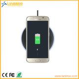 Círculo antideslizante almohadilla cargador inalámbrico Smart Phone Dock de carga inalámbrica