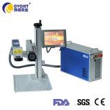Imprimante laser à fibre Cycjet Machine sur la plaque de données machine