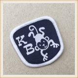Etiqueta tecida correções de programa personalizada do Kb para a roupa