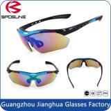 Chat bon marché en gros des sports UV400 en plein air d'usine. 3 lunettes de soleil polarisées