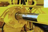ダムのゲートのための二重代理の望遠鏡ピストン油圧オイルシリンダー