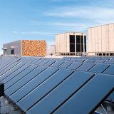 Collettore solare dello schermo piatto di titanio blu di progetto
