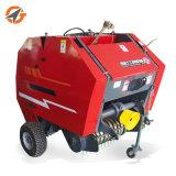 新しいデザイン低価格のトラクターによって取付けられる小型円形の干し草の梱包機
