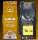 가득 차있는 자동적인 수직 커피 채우는 포장기