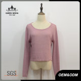 Nuovo maglione della parte posteriore vuota di disegno delle donne