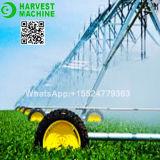 Sistema de irrigación de centro del pivote de China y equipo lateral de la irrigación de la rueda del movimiento para la venta