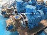 Pompa centrifuga criogenica dell'acqua del petrolio del liquido refrigerante dell'azoto dell'ossigeno liquido