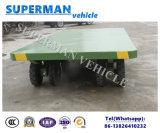 reboque industrial Flatbed de serviço público da barra de acoplamento do transporte de carga 25t