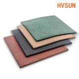 Esteras de goma cómodas suaves del suelo para los azulejos de suelo coloridos del patio al aire libre de los cabritos de la seguridad