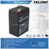 6V4.5ah Batería de plomo ácido selladas con Ce Certificado UL