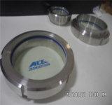 Medidas sanitarias DN40 Acero Inoxidable SS304 Tipo de unión la mirilla