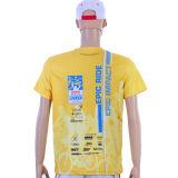 T-shirt promotionnel de publicité unisexe d'équipe de cricket estampé Company de Custom