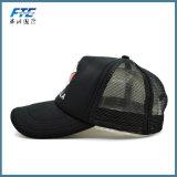 Kundenspezifischer Polyester-Fernlastfahrer-Ineinander greifen-Schutzkappen-Baseballmütze-Sport gedruckte Schutzkappe