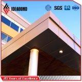 Prezzo composito di alluminio esterno del comitato della decorazione PVDF della costruzione