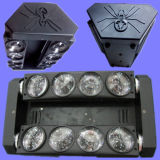 8X10W scène Araignée LED Moving Head Light Poutre