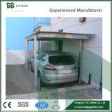 3 niveaux de type mécanique Parking souterrain de la fosse de relevage de voiture