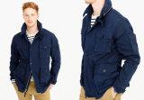 남자 짧은 재킷 필드 기계공 재킷