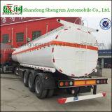 De chemische Vloeibare Semi Aanhangwagen van de Tank