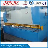 QC11Y-10X6000 Cisaillement guillotine hydraulique Machine & Coupe de la plaque en acier