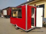 中国の製造業者の新しいデザイン販売のための屋外の食糧カートのホットドッグのカート